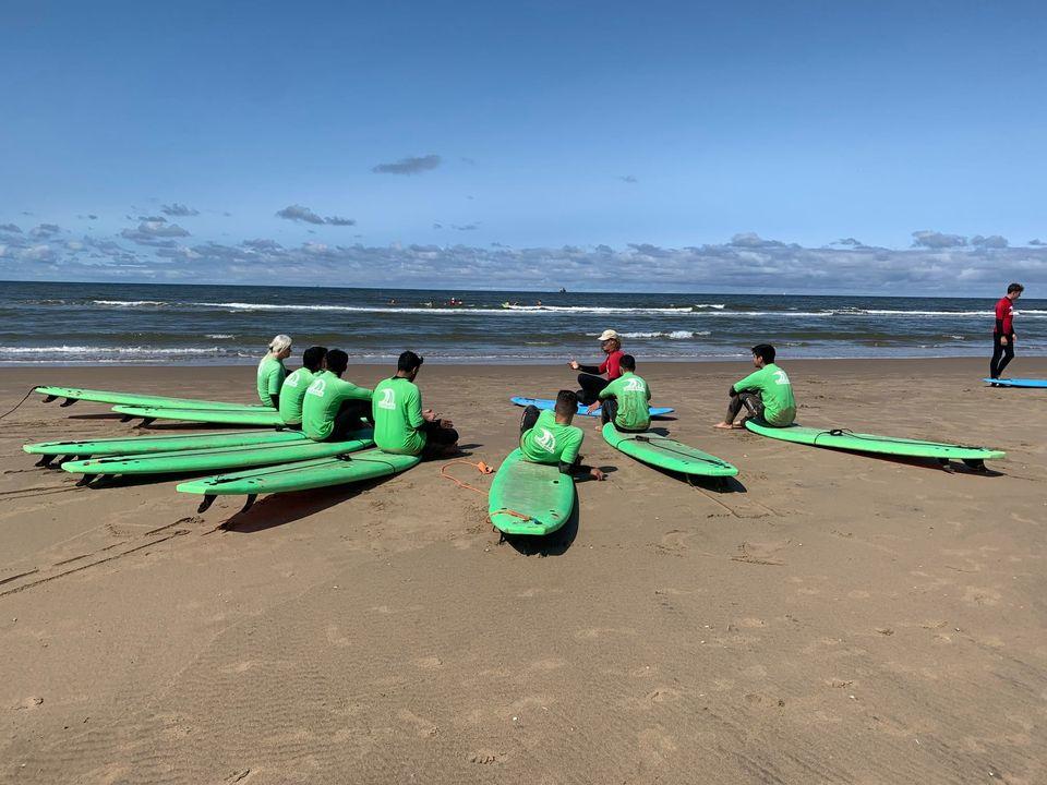 HLW start schooljaar- surfen-havo
